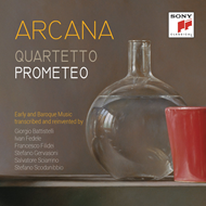 Produktbilde for Quartetto Prometeo - Arcana (CD)