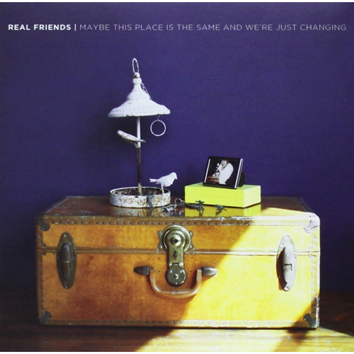 Maybe This Place Is The Same And We're Just Changing (CD)