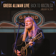 Gregg Allman Live: Back To Macon, GA (2CD+DVD)