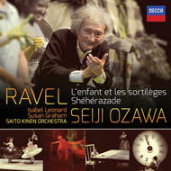 Produktbilde for Ravel: L'Enfant et les Sortilèges; Shéhérazade; Alborada del Gracioso (UK-import) (CD)