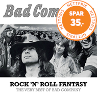Produktbilde for Rock 'N' Roll Fantasy: The Very Best Of Bad Company (CD)