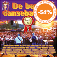 Produktbilde for De Beste Dansebandene Vol. 5 (2CD)