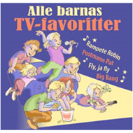 Alle Barnas TV-Favoritter (CD)