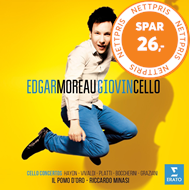Produktbilde for Edgar Moreau - Giovincello (CD)