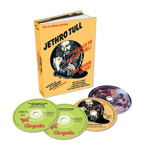 Too Old To Rock 'N' Roll: Too Young To Die - 40th Anniversary Edition (Steven Wilson Remix) (2CD+DVD-A/V)