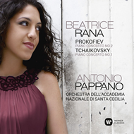 Produktbilde for Beatrice Rana - Prokofiev: Piano Concerto No. 2 / Tchaikovsky: Piano Concerto No. 1 (CD)