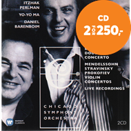 Produktbilde for Itzhak Perlman - The Erato & Teldec Recordings (2CD)