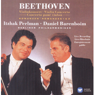 Produktbilde for Itzhak Perlman - Beethoven: Violin Concerto & 2 Romances (CD)
