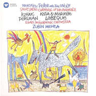 Itzhak Perlman - Saint-Saëns: Carnival Of The Animals, Prokofiev: Peter And The Wolf (CD)