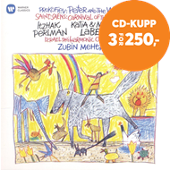 Produktbilde for Itzhak Perlman - Saint-Saëns: Carnival Of The Animals, Prokofiev: Peter And The Wolf (CD)