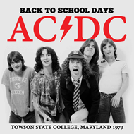 Back To School Days - Townson State College, Maryland 1979 (CD)