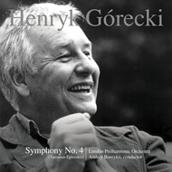 Produktbilde for Górecki: Symphony No. 4, Op. 85 (Tansman Episodes) (CD)