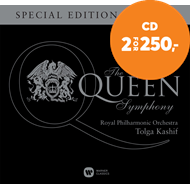 Produktbilde for The Queen Symphony - Special Edition (m/DVD) (CD)