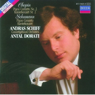 Chopin: Piano Concerto No.2/Schumann: Piano Concerto (CD)