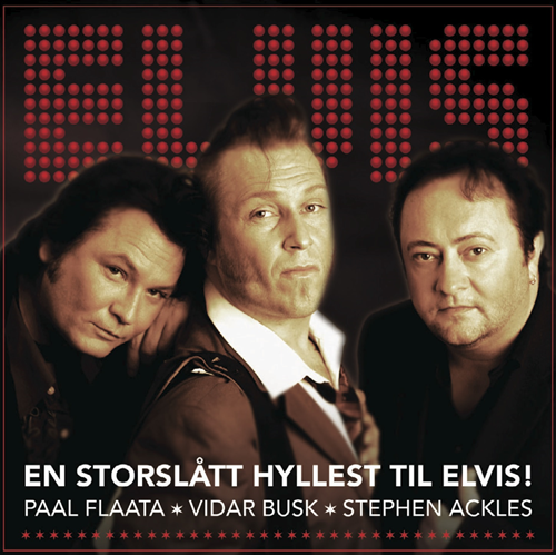 Elvis - En Storslått Hyllest Til Elvis! (CD)