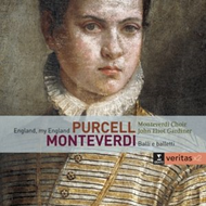 Produktbilde for Monteverdi: Balli E Balletti, Purcell: England, My England (2CD)