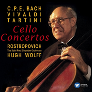 Produktbilde for Mstislav Rostropovich - Baroque Cello Concertos (CD)