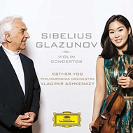 Esther Yoo - Sibelius, Glazunov: Violin Concertos (CD)