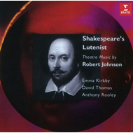 Shakespeare's Lutenist - Theatre Music By Robert Johnson (CD)