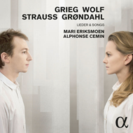 Grieg / Wolf / Strauss / Backer Grøndahl - Lieder & Songs (CD)