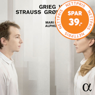 Produktbilde for Grieg / Wolf / Strauss / Backer Grøndahl - Lieder & Songs (CD)