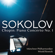Produktbilde for Grigory Sokolov - Chopin: Piano Concerto No. 1 (USA-import) (CD)