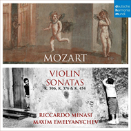Produktbilde for Mozart: Violin Sonatas (CD)