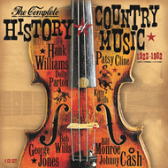Produktbilde for The Complete History Of Country Music 1923-1962 (4CD)