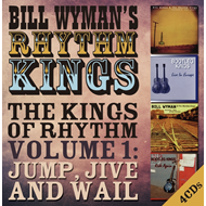 Produktbilde for The Kings Of Rhythm Volume 1: Jump, Jive And Wail (4CD)