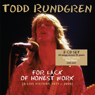 For Lack Of Honest Work (A Live History 1971-2006) (3CD)