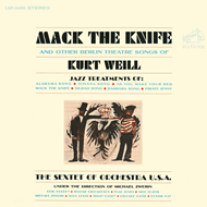 Mack The Knife And Other Berlin Theatre Songs Of Kurt Weill (CD)