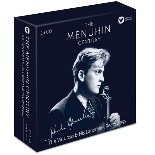 Yehudi Menuhin - The Menuhin Century: The Virtuoso & His Landmark Recordings (13CD)