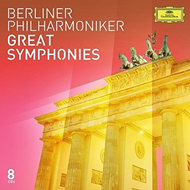 Berliner Philharmoniker - Great Symphonies (8CD)