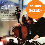 Produktbilde for Jacqueline du Pré - Haydn: Cello Concertos, Boccherini: Cello Concerto In B Flat (CD)