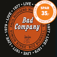 Produktbilde for Bad Company Live In 1977 & 1979 (2CD)