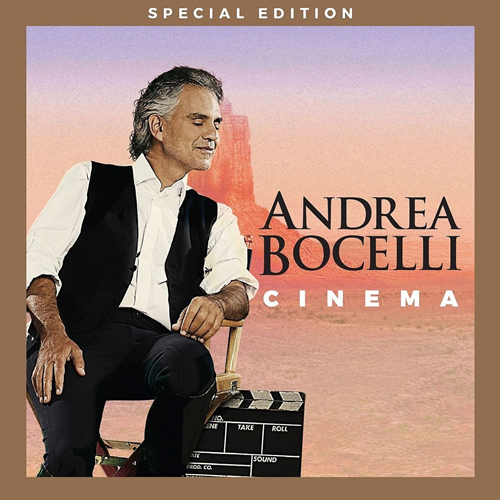 Andrea Bocelli - Cinema: Special Edition (m/DVD) (CD)