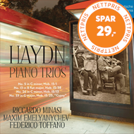 Produktbilde for Haydn: Piano Trios (UK-import) (CD)