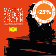 Produktbilde for Martha Argerich - Chopin: The Complete Recordings On Deutsche Grammophon (5CD)