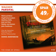 Produktbilde for Wagner: Parsifal (4CD)