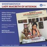 Shostakovich: Lady Macbeth Of Mtsensk (2CD)
