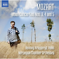 Henning Kraggerud - Mozart: Violin Concertos Nos. 3, 4 And 5 (CD)