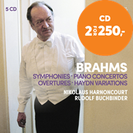 Produktbilde for Brahms: The 4 Symphonies (5CD)