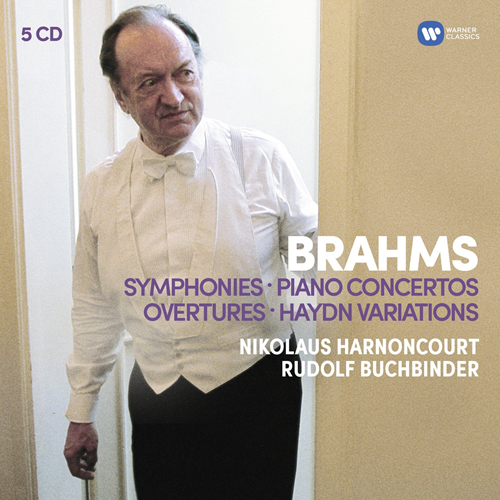Brahms: The 4 Symphonies (5CD)