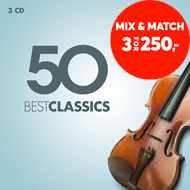 Produktbilde for 50 Best Classics (3CD)