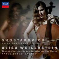 Produktbilde for Alisa Weilerstein - Shostakovich: Cello Concertos Nos. 1 & 2 (CD)
