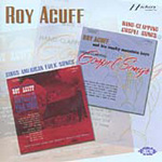 Roy Acuff Sings American Folksongs/Hand-Clapping Gospel Songs (CD)