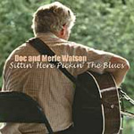 Sittin' Here Pickin' The Blues (CD)