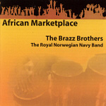 African Marketplace - Med Marinemusikken (CD)