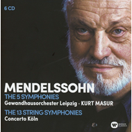 Mendelssohn: The Complete Symphonies, The Complete String Symphonies (6CD)