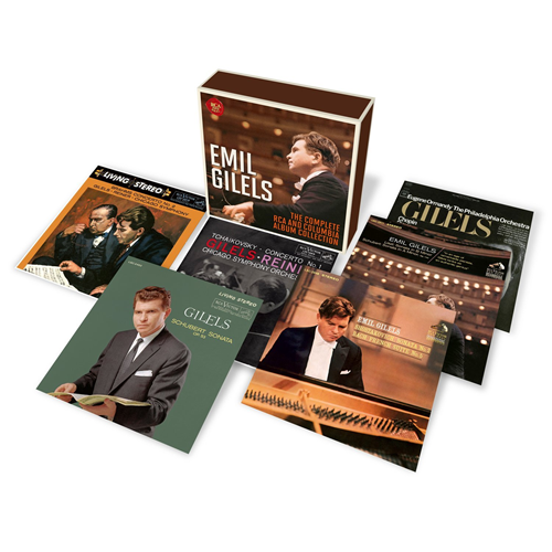 Emil Gilels - The Complete Rca And Columbia Album Collection (7CD)